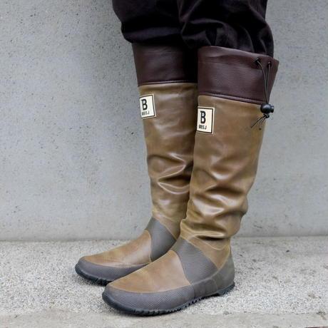 バードウォッチング長靴 ブラウン / 日本野鳥の会