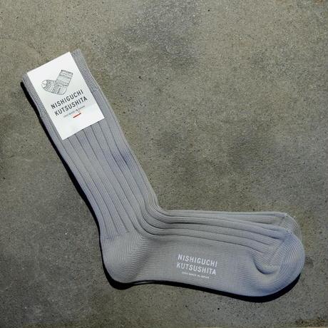 エジプトコットンリブソックス  S【23-25cm】