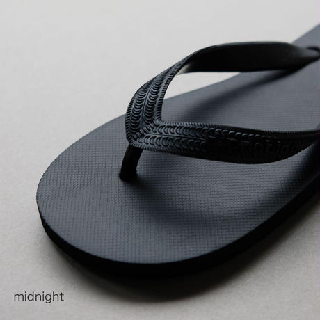 天然ゴムビーチサンダル 【26-27cm】 / Hippobloo(ヒッポブルー)