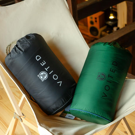 VOITED / FLEECE OUTDOOR PILLOW BLANKET (無地)
