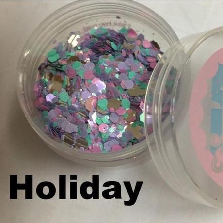 Holiday, pure glitter mix! ホリデー ピュアグリッターミックス