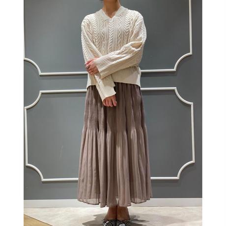 EN50008 ギャザーロングスカート