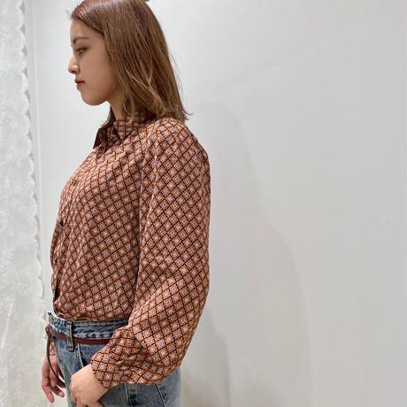 EN20007 レトロパターンシャツ