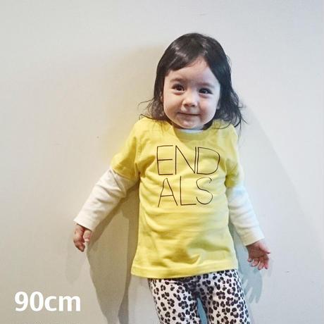 END ALS KIDS TEE YELLOW (90cm)