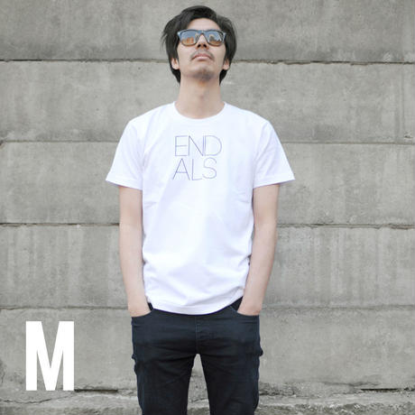 END ALS BASIC TEE WHITE (M)