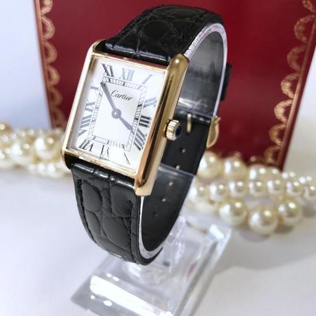 Cartier カルティエ マスト タンク 文字盤ホワイト 腕時計