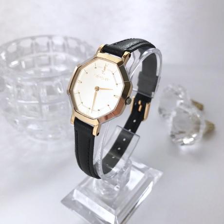 YSL イヴサンローラン コンビ 八角 腕時計