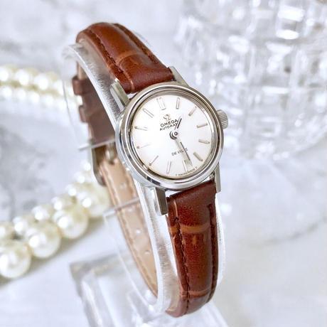 OMEGA オメガ デビル ベルト2色付き 自動巻 レディース 腕時計