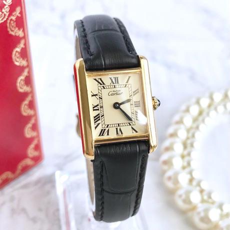 Cartier  カルティエ マスト タンク SM 腕時計