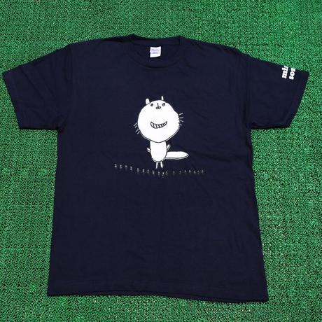 くるみちゃんTシャツ(フクマル・ネイビー)小さめサイズ