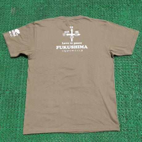 くるみちゃんTシャツ(フクマル・オリーブ)