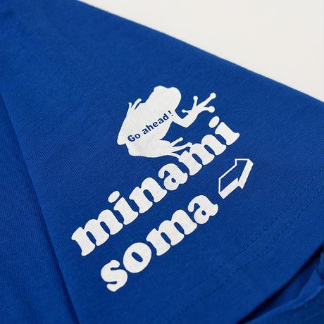 くるみちゃんTシャツ(チョビ・ブルー)小さめサイズ