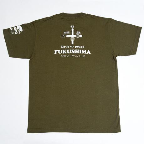 くるみちゃんTシャツ(チョビ・オリーブ)