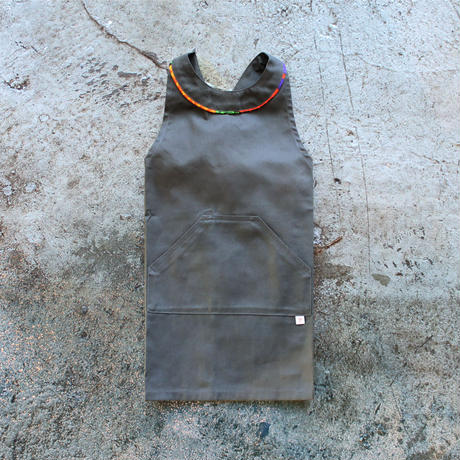 〈Mexico City + CHARCOAL GRAY〉KIDS WORK APRON