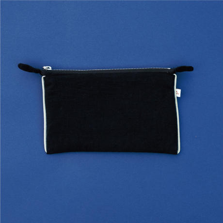 Tallinn  Bilberry  POUCH Black【STAYING with WILD COLORS】