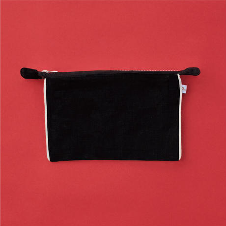 Jyväskylä  Cowberry  POUCH Black【STAYING with WILD COLORS】