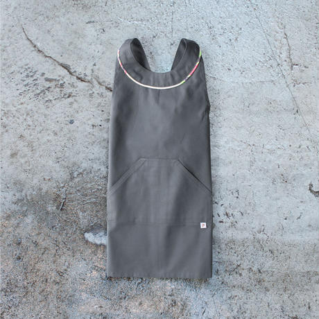 〈Los Angeles + CHARCOAL GRAY〉KIDS WORK APRON