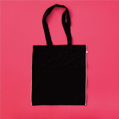 Jyväskylä  Raspberry  TOTE Black【STAYING with WILD COLORS】