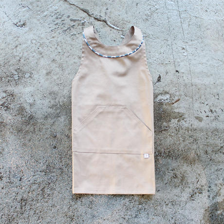 〈Helsinki + EARTH BEIGE〉KIDS WORK APRON