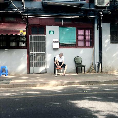 〈Shanghai + EARTH BEIGE〉KIDS WORK APRON