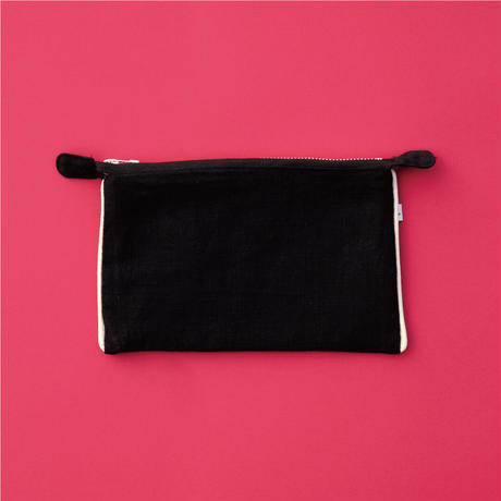 Jyväskylä  Raspberry  POUCH Black【STAYING with WILD COLORS】
