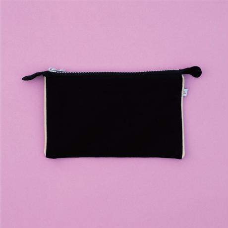 Jyväskylä  Fireweed  POUCH Black【STAYING with WILD COLORS】