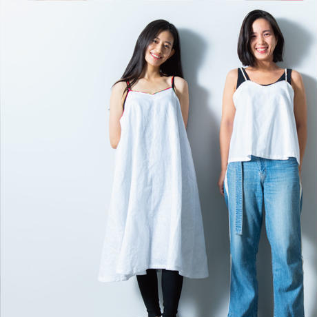Shanghai   WOMEN  Linen Camisole Dress