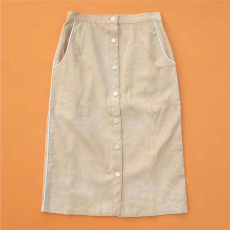 Tallinn  Sea Buckthorn  WOMEN  Skirt【STAYING with WILD COLORS】