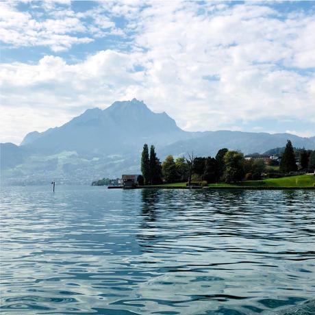 〈Luzern + SKY BLUE〉KIDS WORK APRON