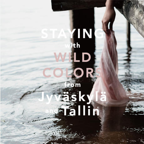 Tallinn  Sea Buckthorn  POUCH Black【STAYING with WILD COLORS】
