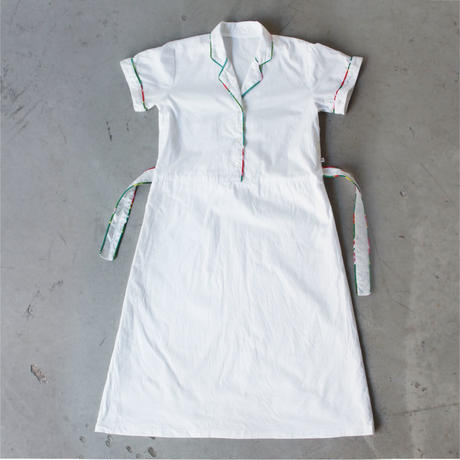 Shanghai  WOMEN  Open Collar Shirt Dress