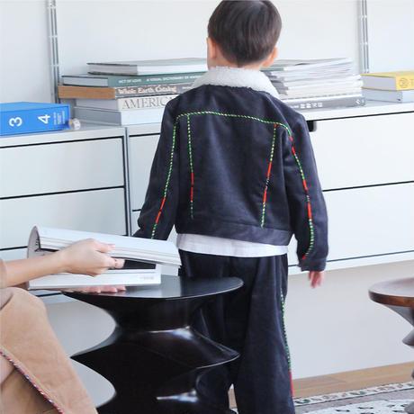 〈San Francisco + CHARCOAL GRAY〉KIDS  Corduroy Jacket