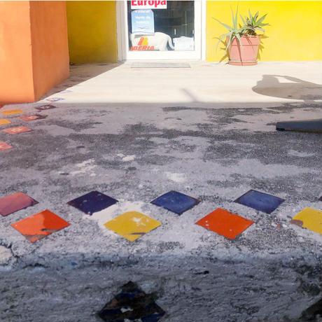 〈Cancún + EARTH BEIGE〉KIDS WORK APRON