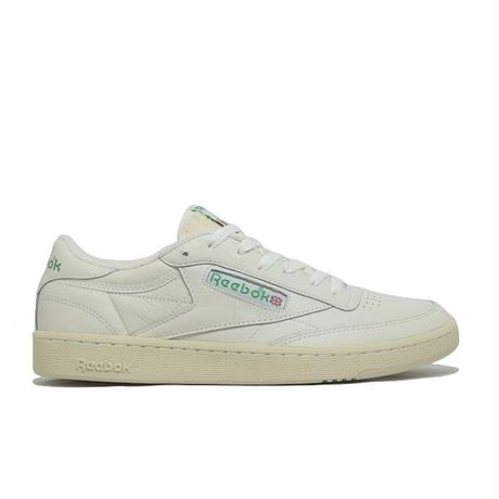 REEBOK CLUB C 1985 TV CHALK PAPER WHITE GREEN リーボック