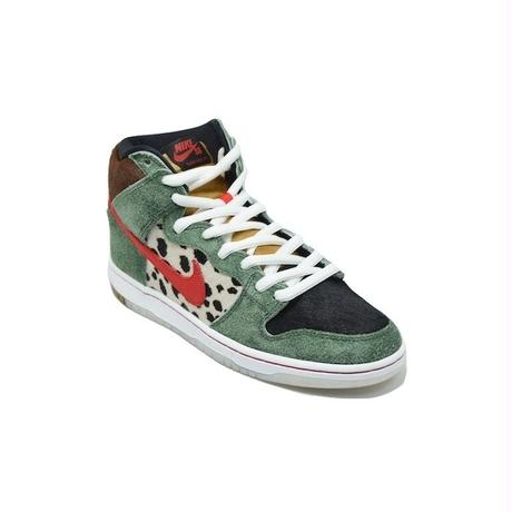 NIKE SB DUNK HIGH PRO SB  WALK THE DOG FIR RED ナイキ ダンク ドッグ ウォーカー