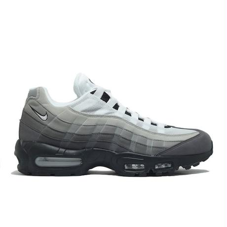 NIKE AIR MAX 95 OG BLACK WHITE GRANITE DUST GREY ナイキ エアマックス モノクローム