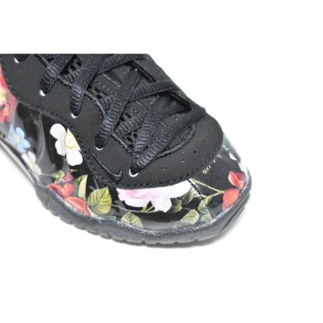 NIKE LITTLE POSITE ONE PRM PS BLACK FLORAL ナイキ リトルポジット フローラル