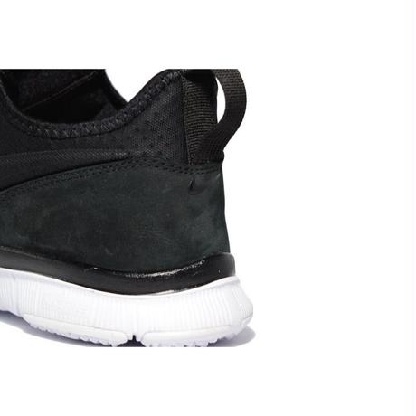 NIKE FREE ACE LEATHER BLACK WHITE ナイキ フリーエース レザー