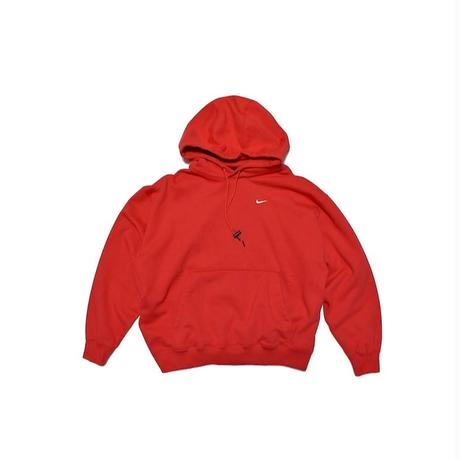NIKE LAB PULLOVER HOODIE RED ナイキラボ フーディー パーカー レッド