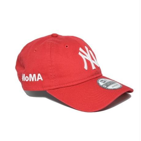 NEW ERA × MoMA 9TWENTY STRAP BACK CAP RED  NY YANKEES ニューエラ ヤンキース キャップ レッド