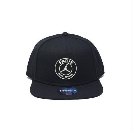NIKE AIR JORDAN × PSG PRO CAP BLACK ナイキ エアジョーダン キャップ パリサンジェルマン ブラック