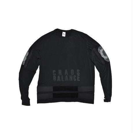 NIKE LAB × UNDERCOVER NRG LONG SLEEVE TEE CHAOS BALANCE ナイキ アンダーカバー Tシャツ ブラック