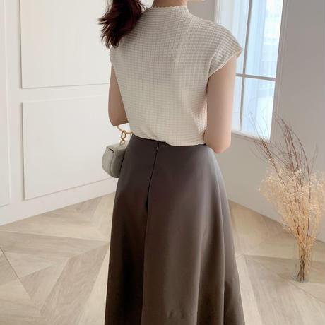french sleeve rib knit