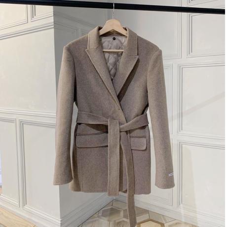 handmade wool jacket