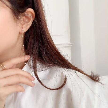 star pearl chain pierce