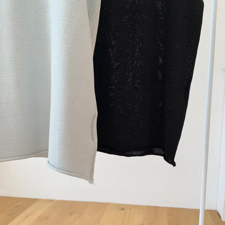 square nosleeve knit