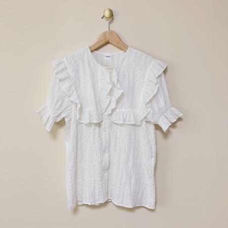 sailor puff blouse