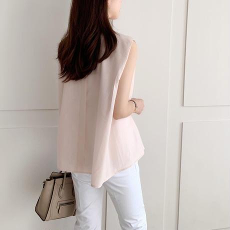 gather sleeve blouse