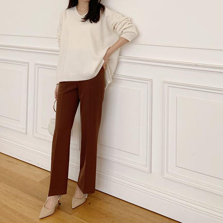 flare silhouette pants