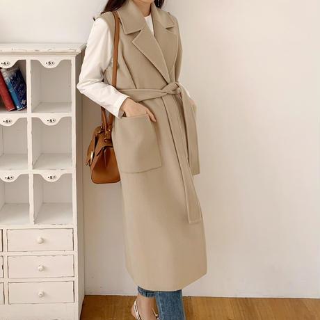 Handmade rong vest coat
